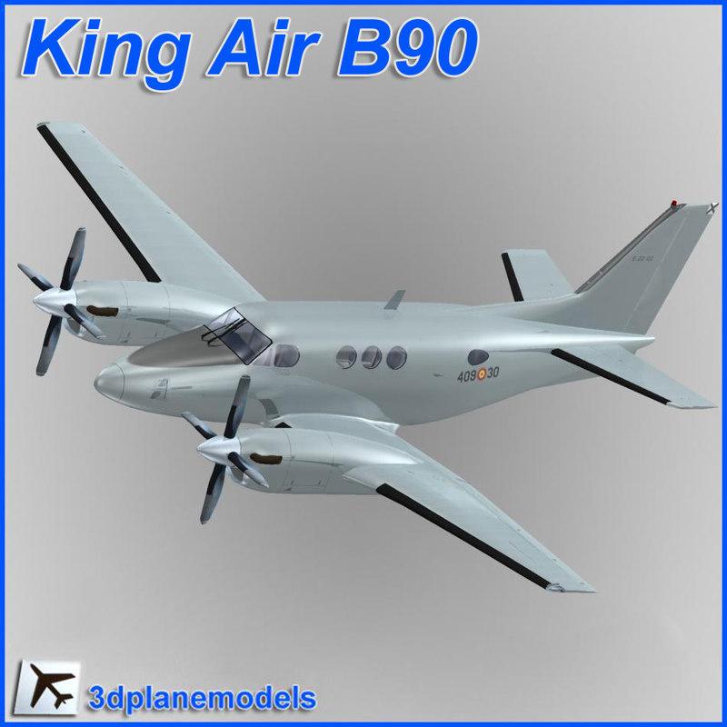 maya beechcraft c90 king air