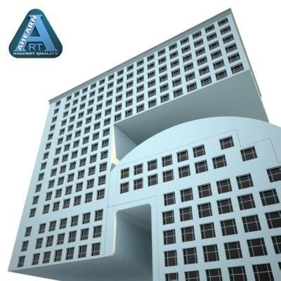 maya building shape number 5