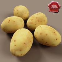 potato v2 3d c4d