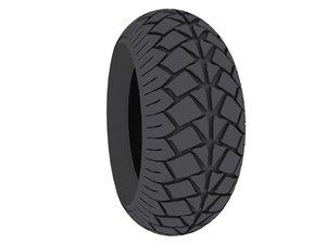 motorcycle tires 3d model