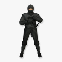 3d model ninja assassin specialized