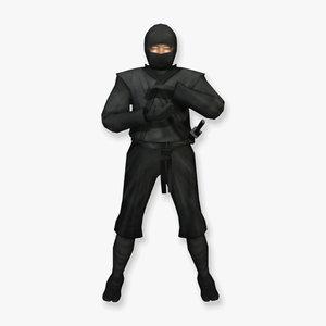 3d model ninja assassin specialized