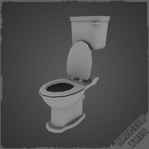 toilet plunger 3d model