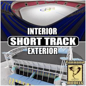 xsi short track arena interior exterior
