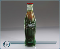 Iconic Glass Cola Bottle