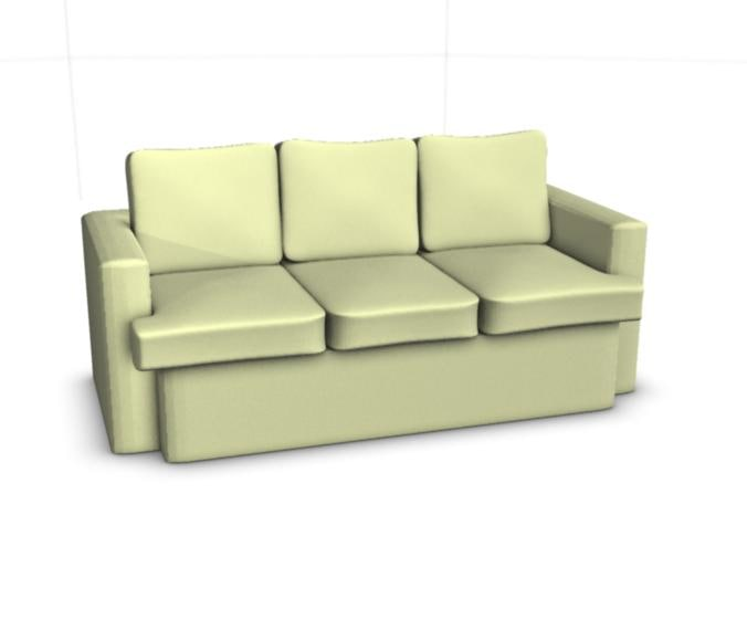 3d model of chair sofa