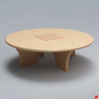 free 3ds model table