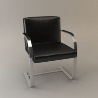 3d brno chair model