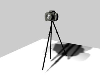 camera canon xti 3d obj
