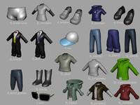 3d clothes probs model
