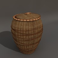3d basket lid