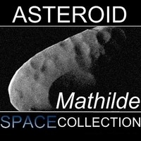 mathilde asteroid 3d model