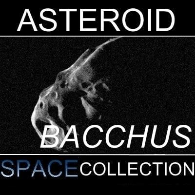 asteroid bacchus 3d max