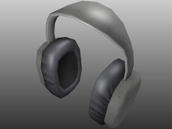 ear muffs earmuffs 3d 3ds