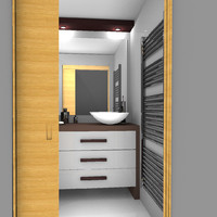 3d model bathroom
