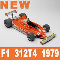 3d model f1 312t4 1979