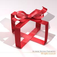 3dsmax gift ribbon