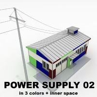 power supply 02 3d model