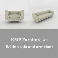 3ds bellino sofa