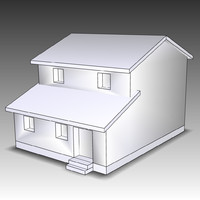 3ds max house homes
