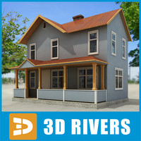 Small town house 24 by 3DRivers