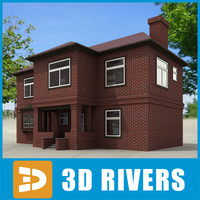Small town house 27 by 3DRivers