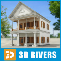 Small town house 30 by 3DRivers