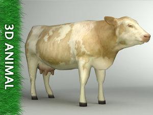 cow arch renderings 3d model