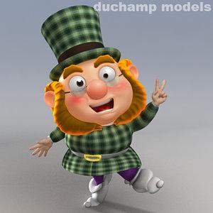 3d model of cartoon -