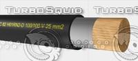 3d model welding cable h01n2-d 100-100