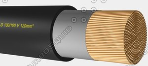 max welding cable h01n2-d 100-100