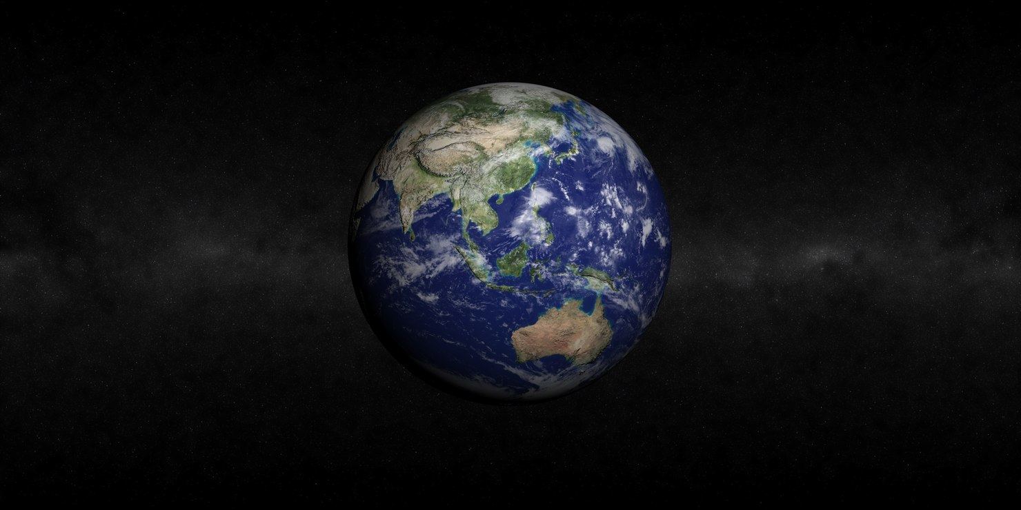 cinema4d earth atmosphere