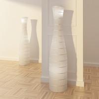 3d model ikea storm floor lamp