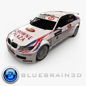 2009 wtcc - car racing 3d lwo