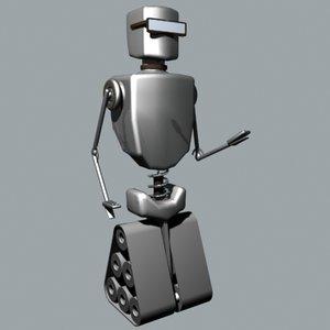 3ds cool robot