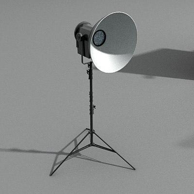 3d model light