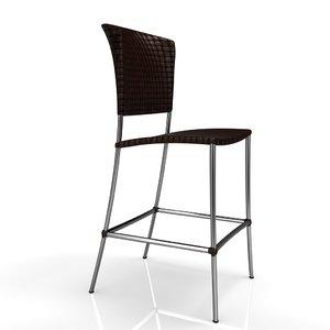 chair smania 3d max