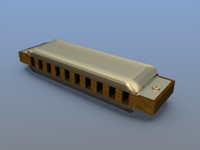 blender blues harp