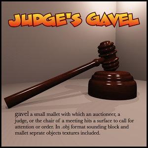 maya judge s gavel
