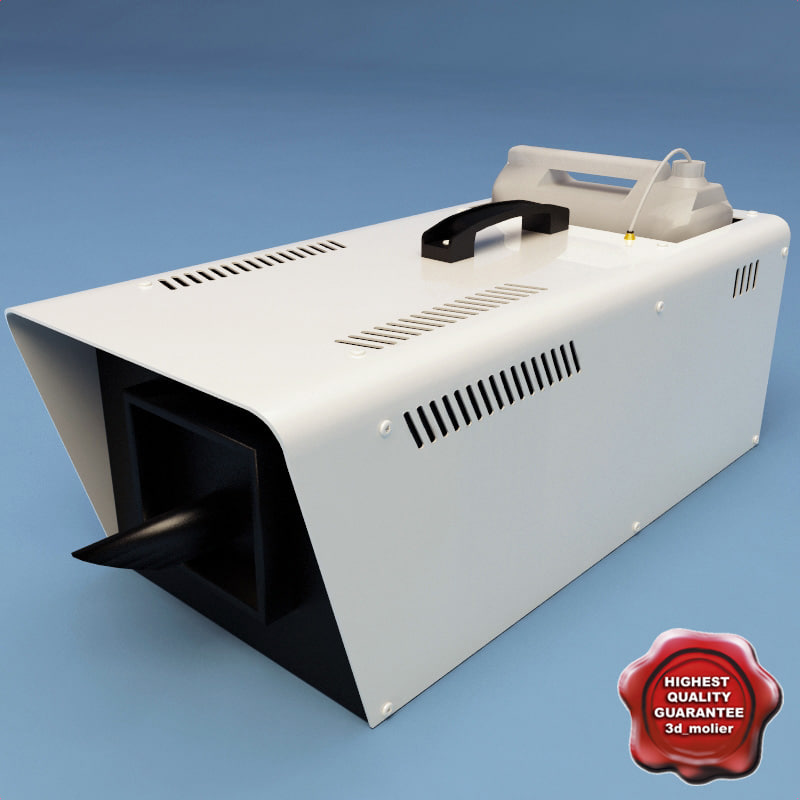 3d model snow machine mys-1200w