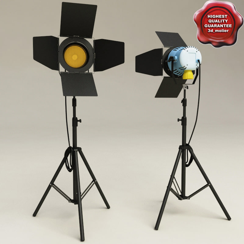 3d studio light arri 800