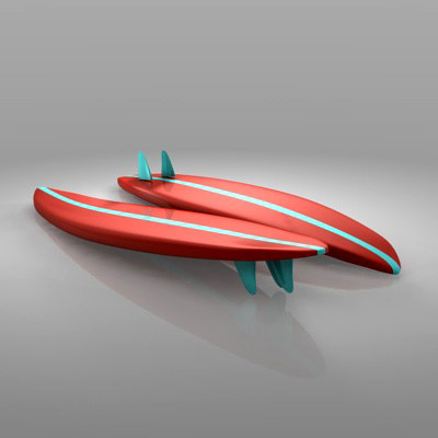 3ds max surf boards