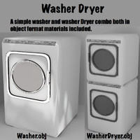 3d washer dryer combo model
