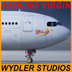 3ds a340-300 virgin