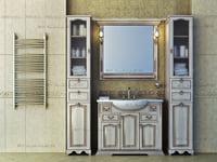 Bathroom furniture set classic