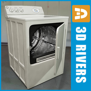 3d electric gas dryer ge