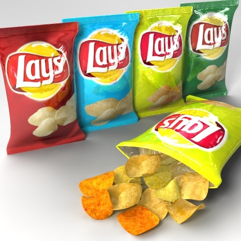 3d dxf lays chips