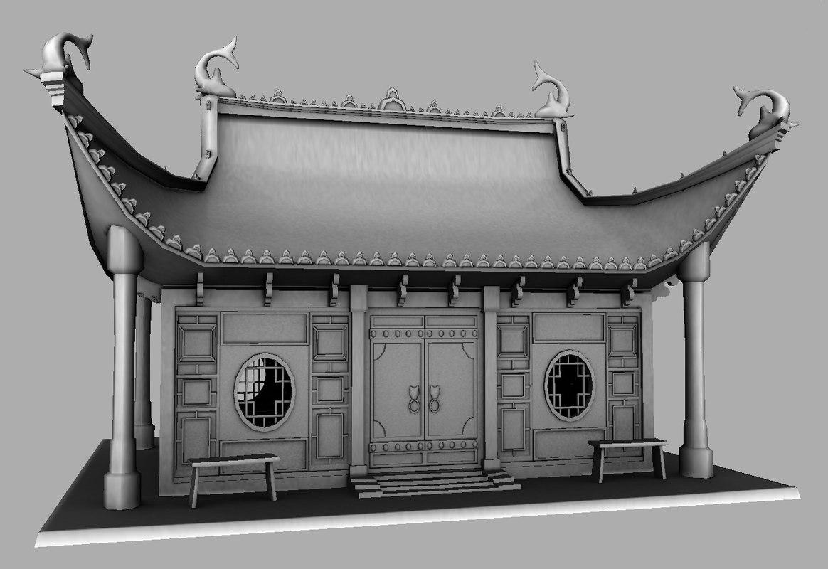 maya old chinese house