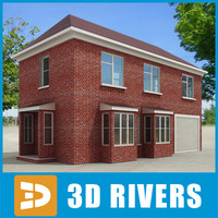 Small town house 32 by 3DRivers