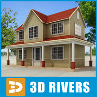 Small town house 39 by 3DRivers